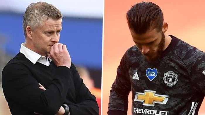 Ole Gunnar Solskjaer David de Gea Manchester United 2019-20