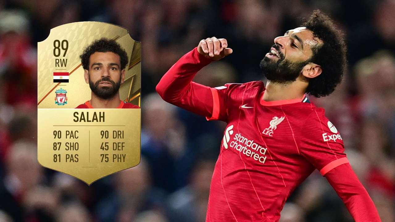 Mohamed Salah, Liverpool, FIFA 22 ratings