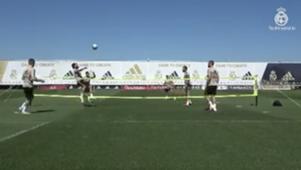 Real Madrid training 2020