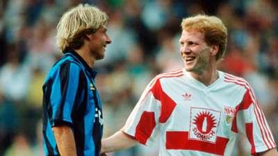 Matthias Sammer Jurgen Klinsmann Stuttgart Inter