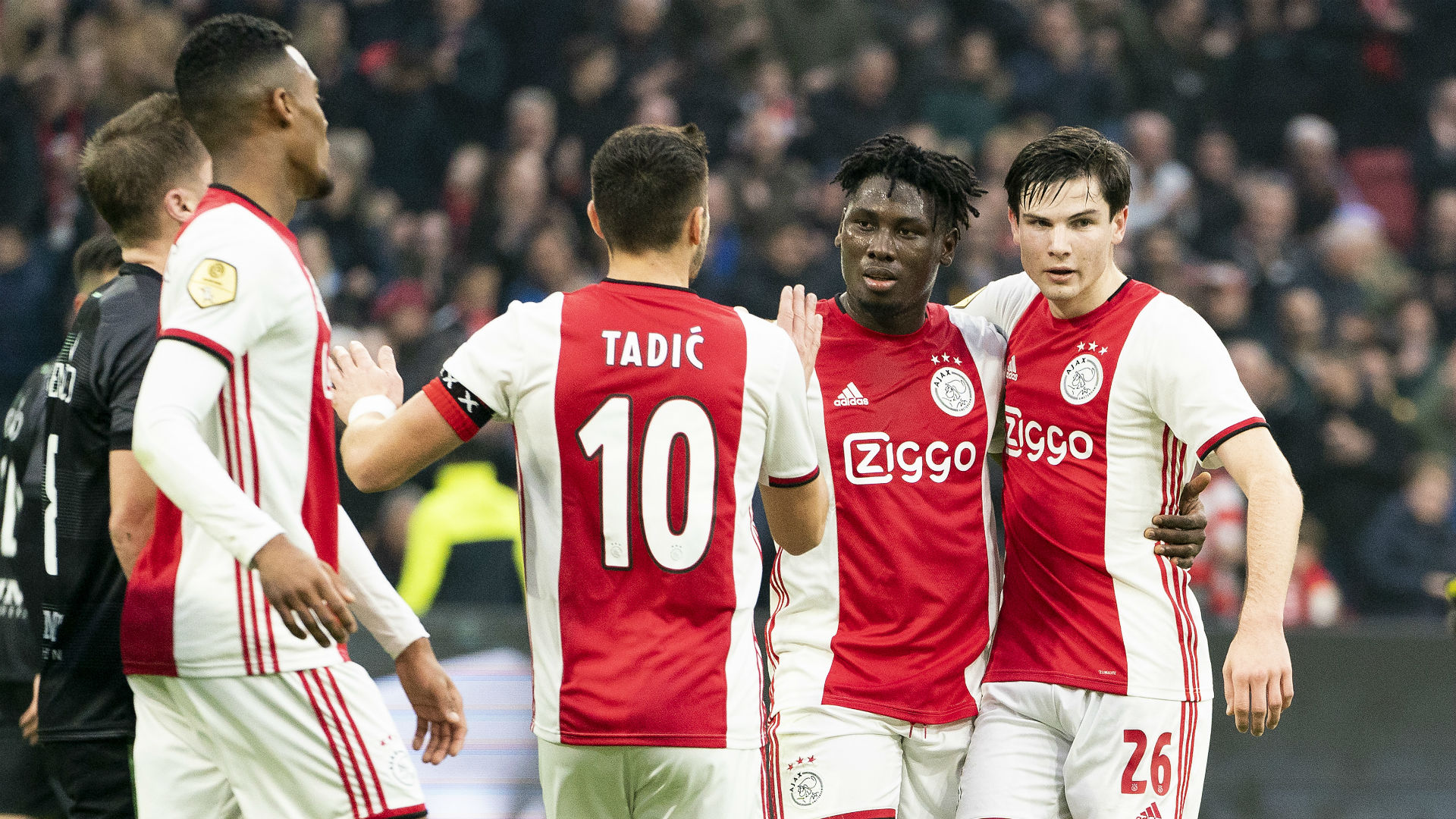 Andre Onana and Lassina Traore help Ajax go top of Eredivisie after victory over Heracles
