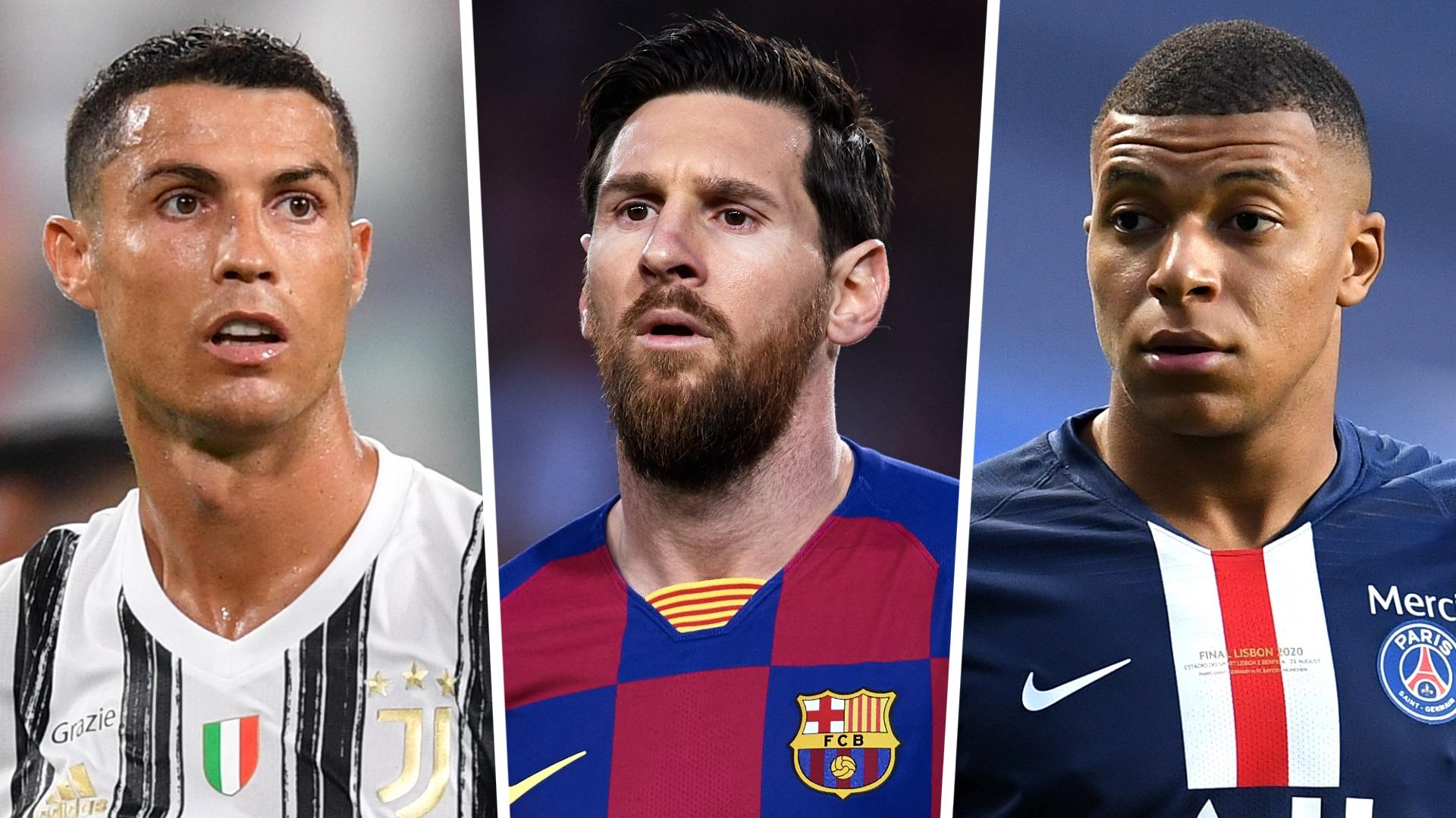 Fifa 21 Ratings Messi Ronaldo Mbappe Top 100 Players Ranked Goal Com