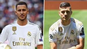 Eden Hazard Luka Jovic Real Madrid