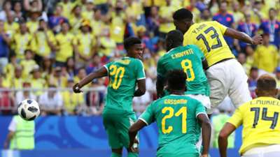 Yerry Mina Colombia Senegal
