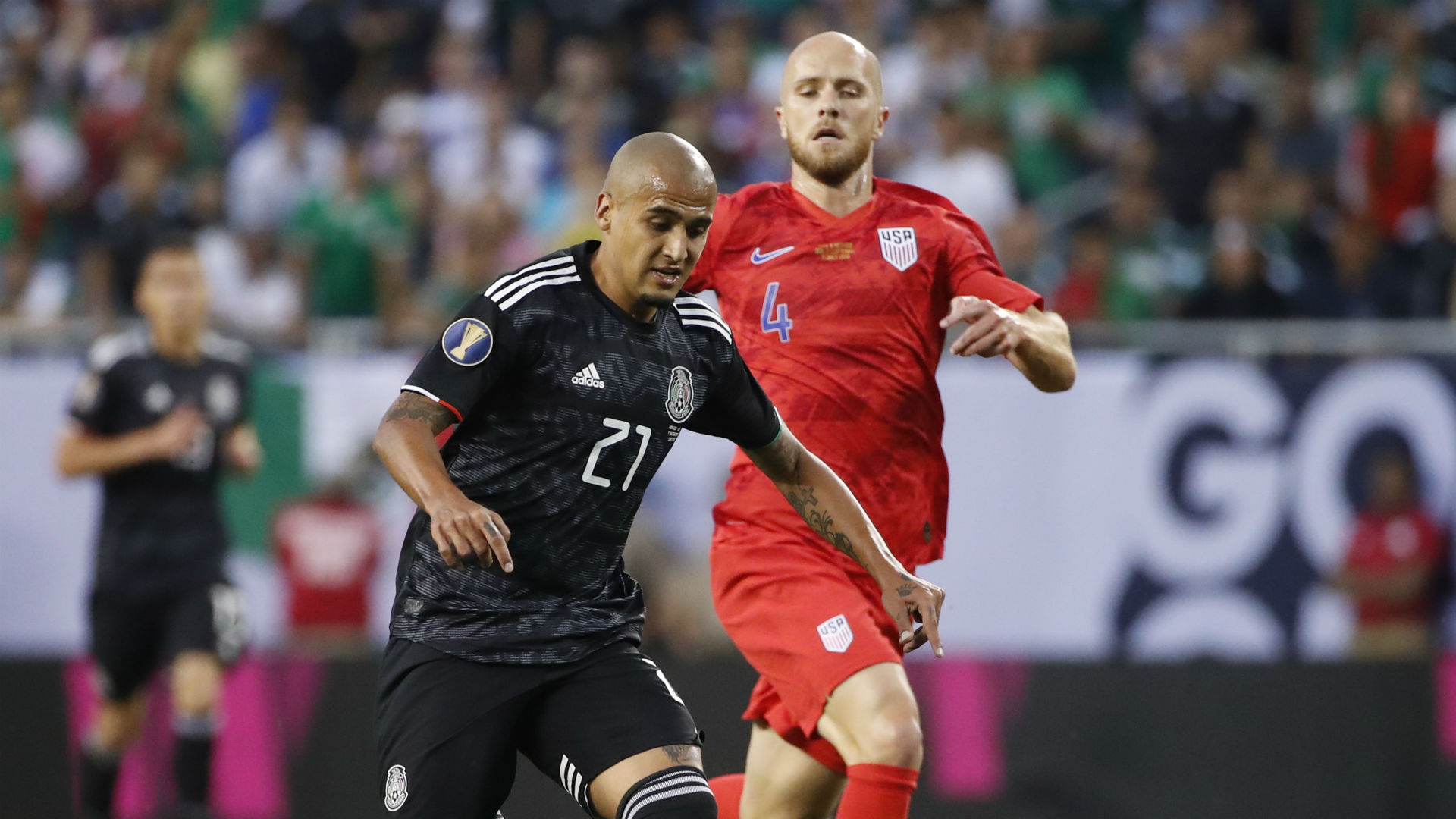Michael Bradley Chaka Rodriguez Mexico USA USMNT Gold Cup 2019