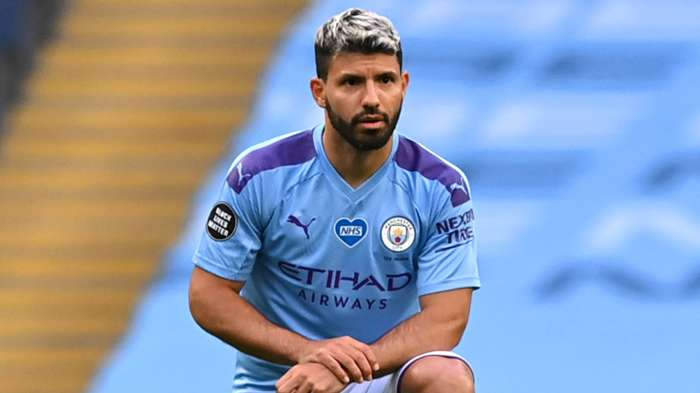 Aguero Manchester City Black Lives Matter