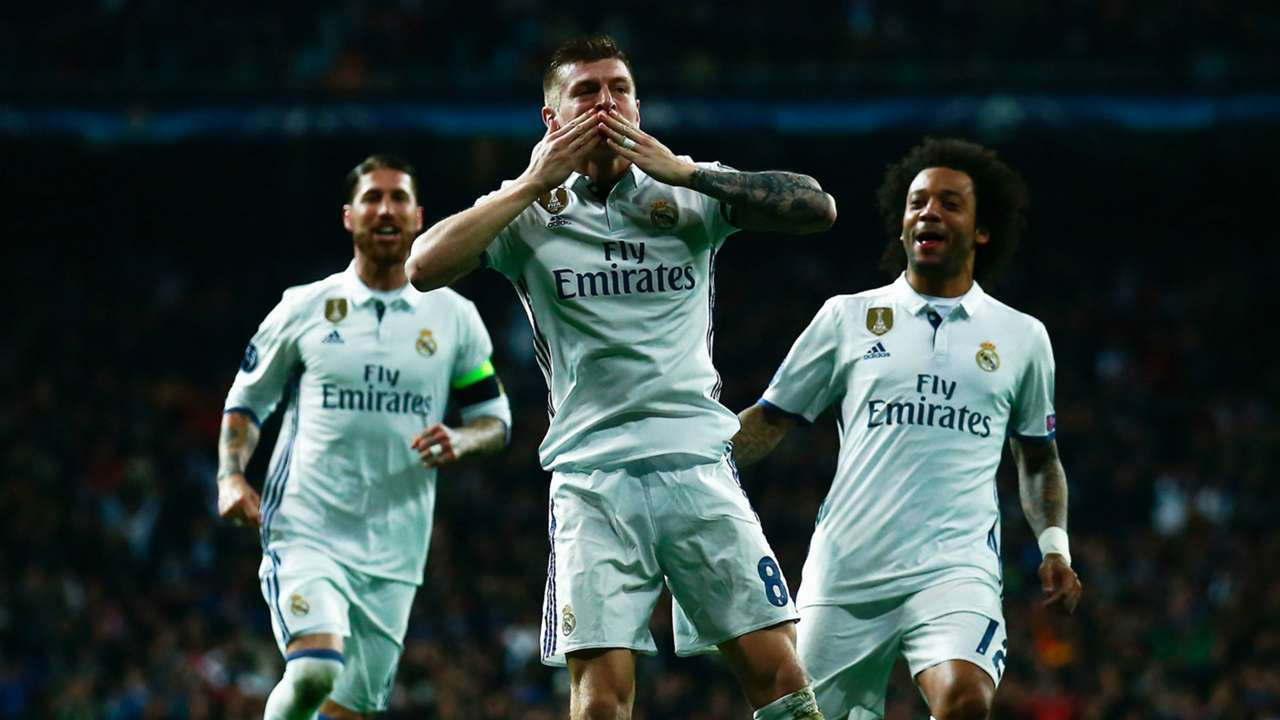 Toni Kroos Real Madrid Champions League