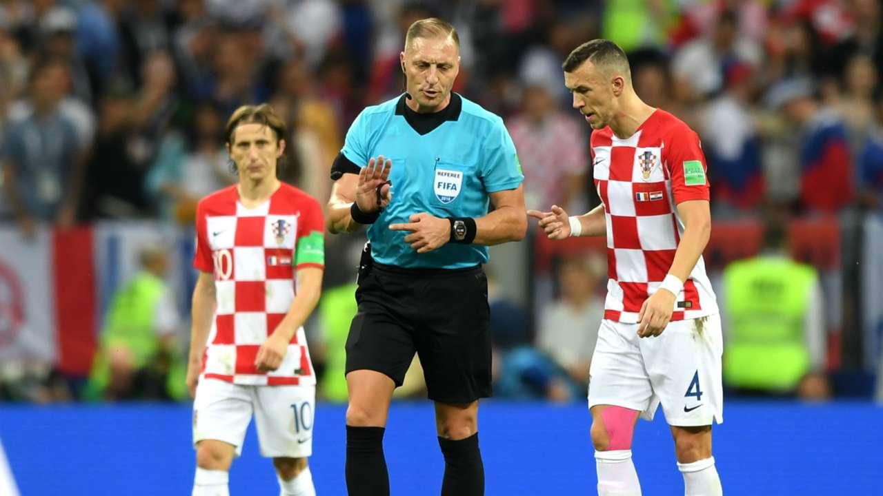 Ivan Perisic France Croatia World Cup final 2018