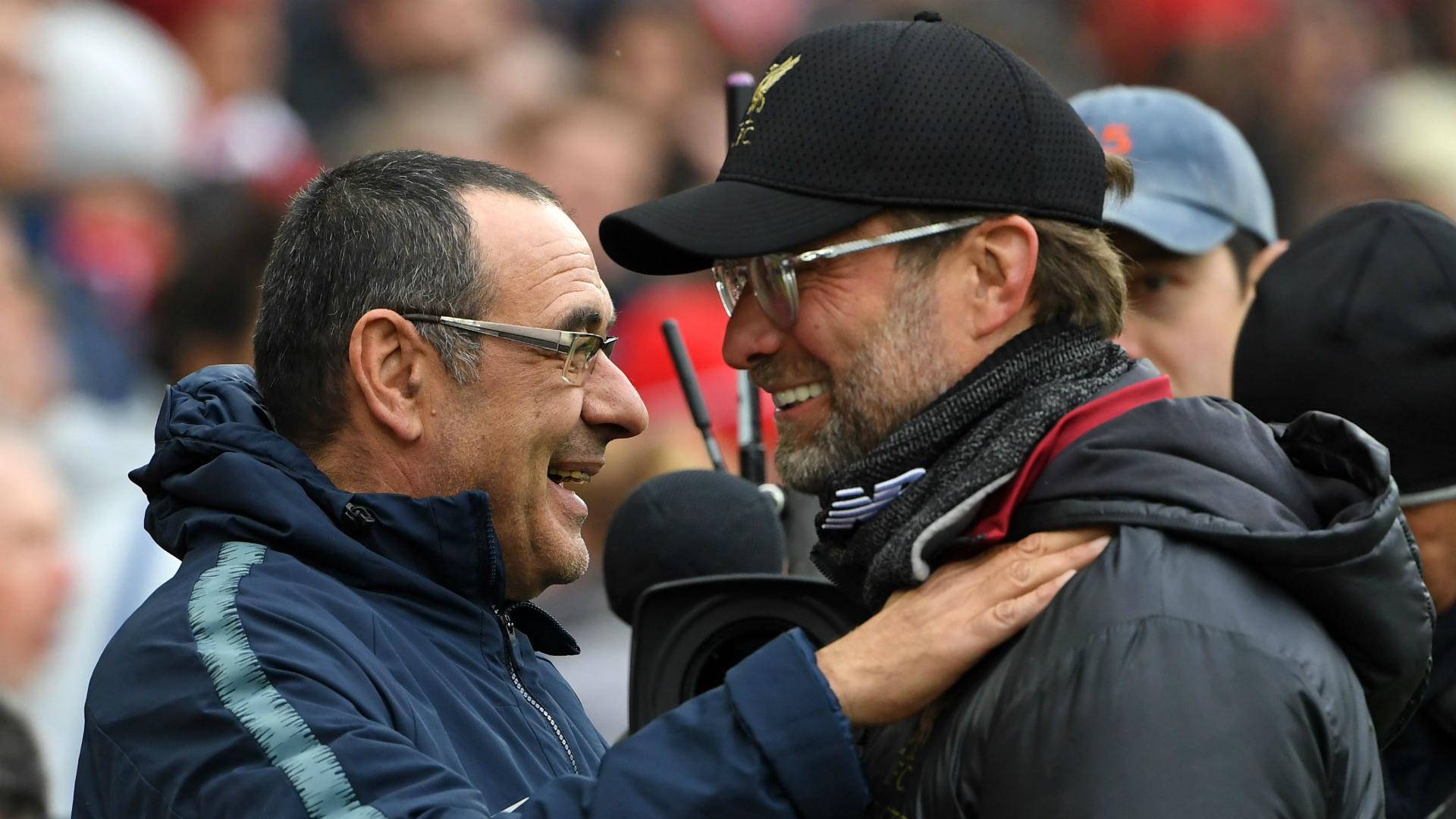 'Jurgen doesn't watch much Serie A!' - Sarri laughs off Klopp claim Juventus are Champions League favourites
