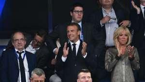 Emmanuel Macron France celebrations