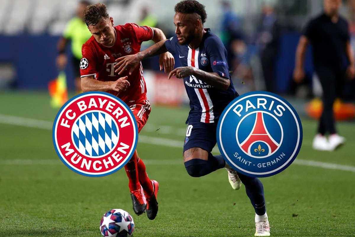 Wer zeigt / überträgt FC Bayern München - PSG (Paris Saint-Germain) heute  live im TV und LIVE-STREAM? Die Übertragung der Champions League