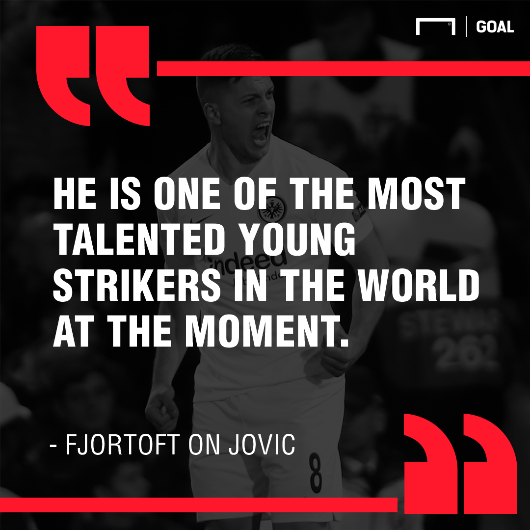 GFX Fjortoft on Jovic