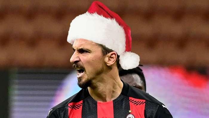 Zlatan Ibrahimovic, Santa, AC Milan