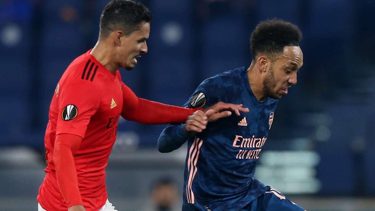 Julian Weigl Benfica Pierre-Emerick Aubameyang Arsenal 2020-21