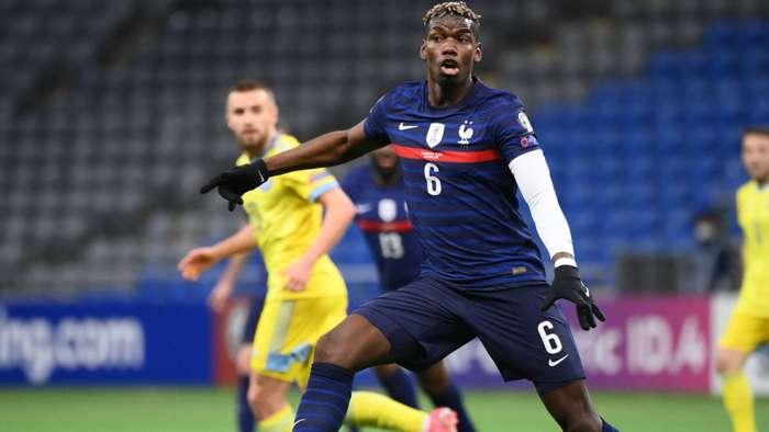 Paul Pogba Kazakhstan France World Cup Qualifiers 28032021