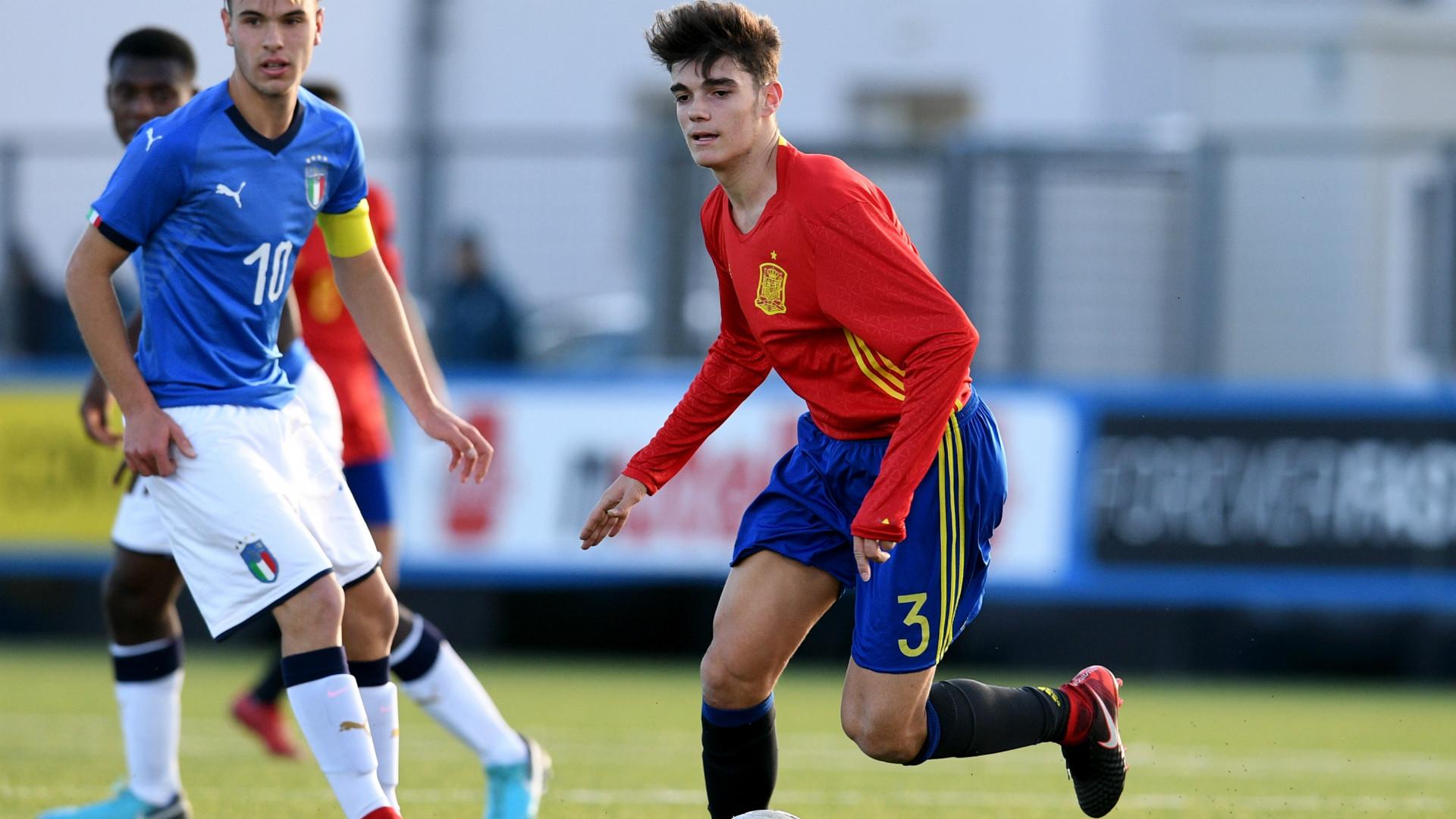 Le Real Madrid met les barbelés sur un jeune prometteur