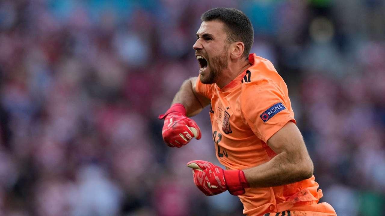 Unai Simon Spain Croatia Euro 2020