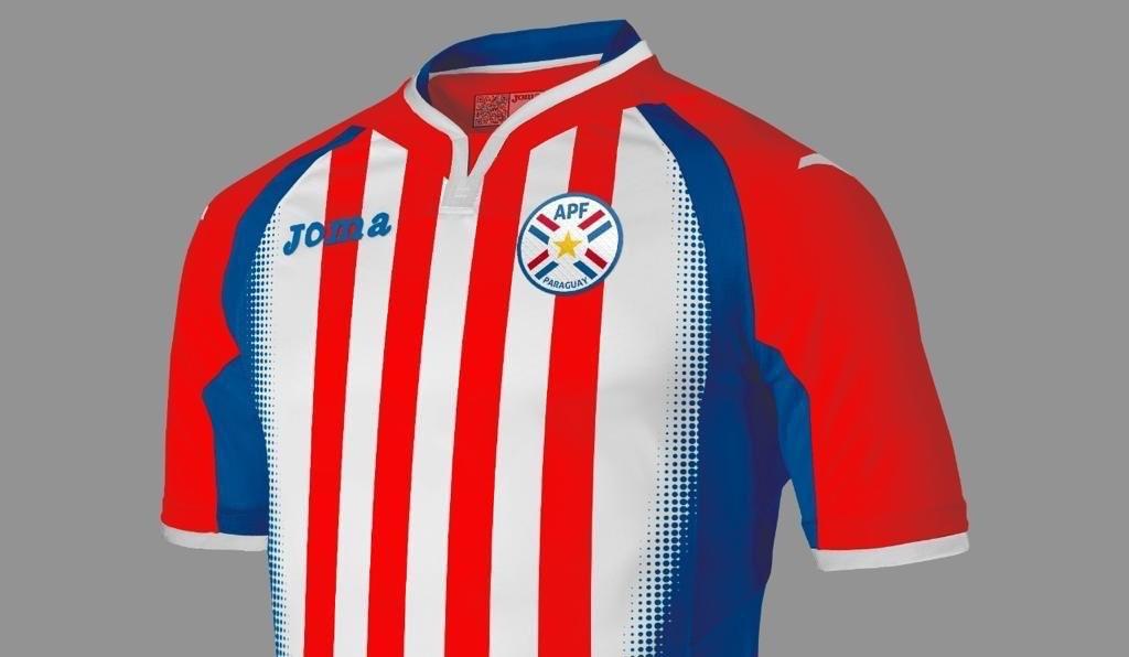 Camiseta adidas Paraguay Primera Equipación 2017 2018
