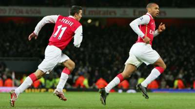 Thierry Henry Robin van Persie Arsenal