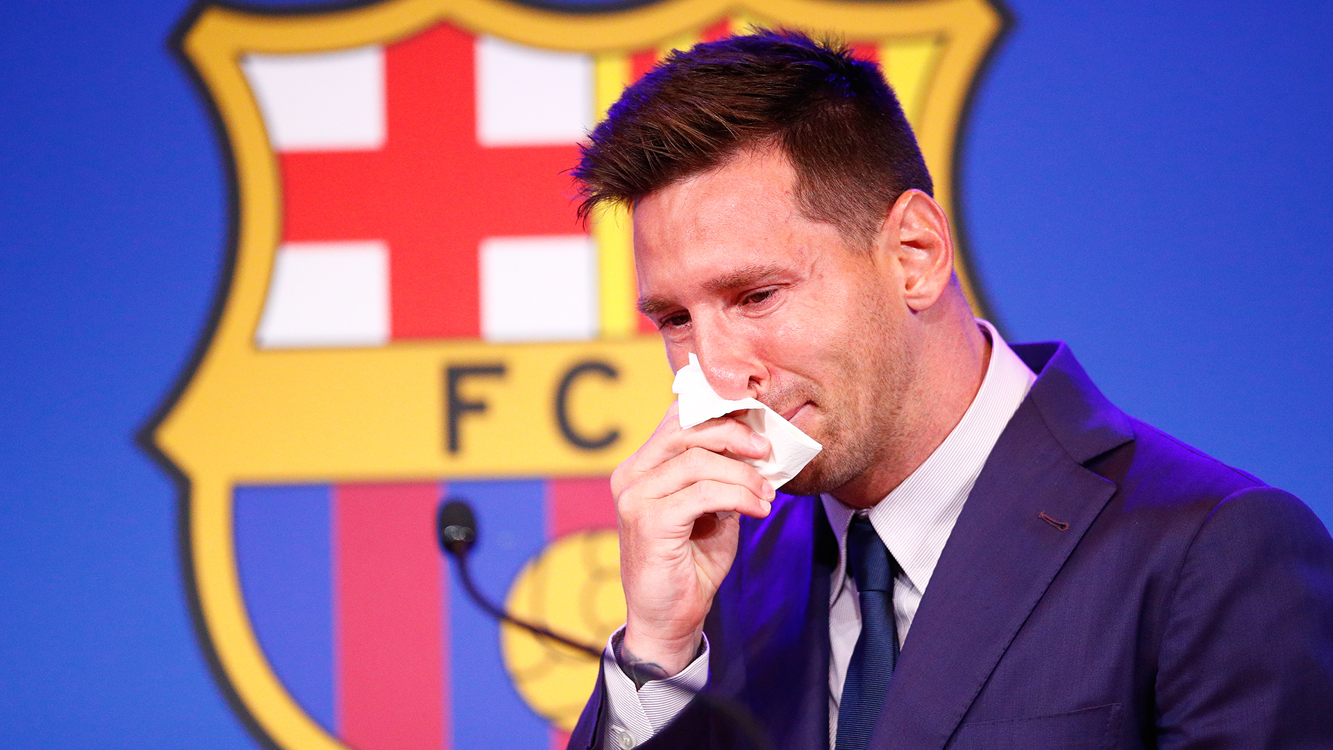 'You're greedy & not the only one' - Saleh slams ex-Barcelona star Messi over 'crocodile tears'