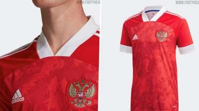 Russia Euro 2020 home kit