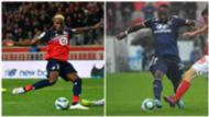 Victor Osimhen (LOSC) et Moussa Dembélé (OL), meilleurs buteurs de la Ligue 1 2019-2020 après 7 journées