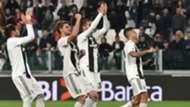 Juventus celebrating Empoli