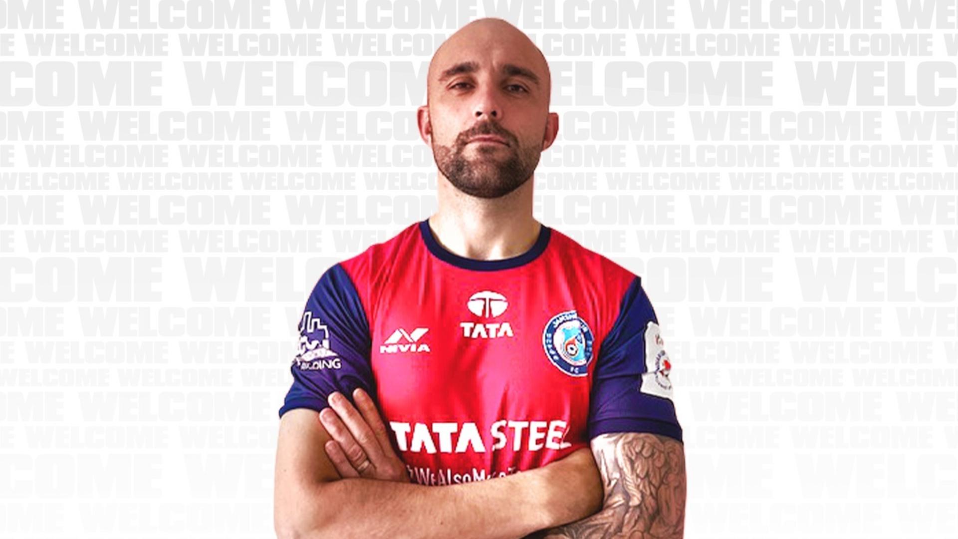 Peter Hartley Jamshedpur FC