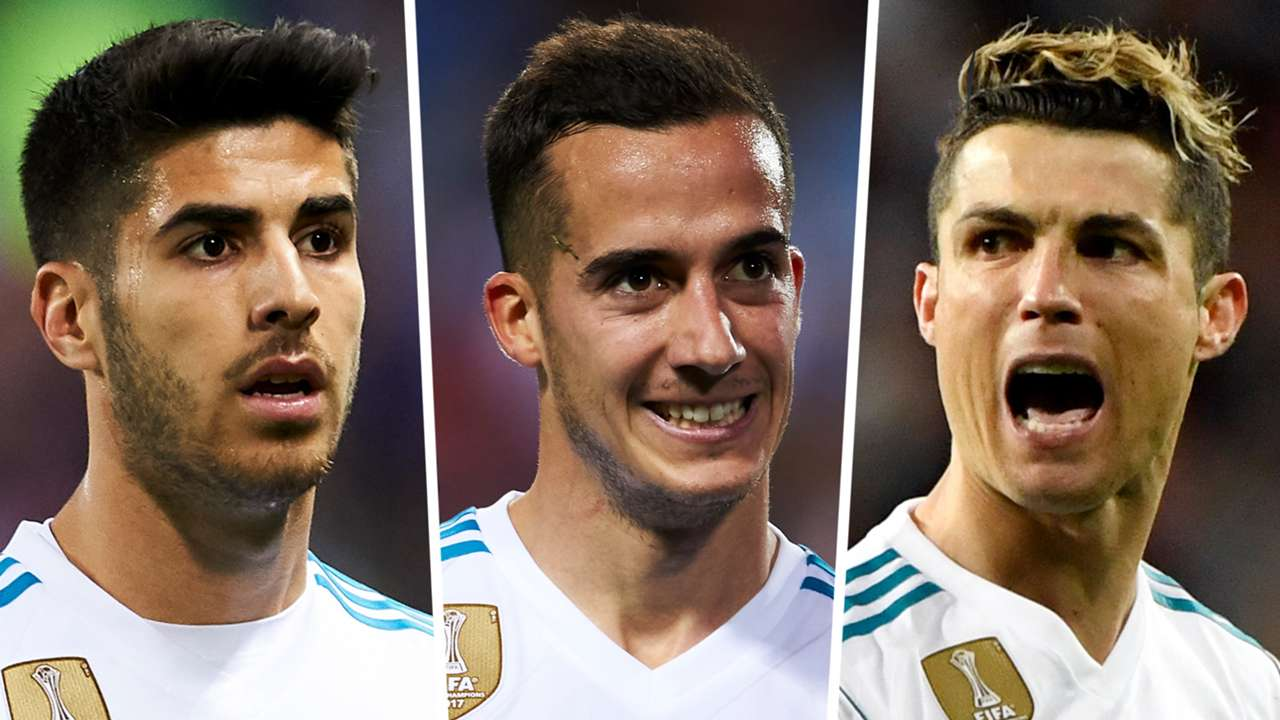 Asensio Lucas Ronaldo Real Madrid