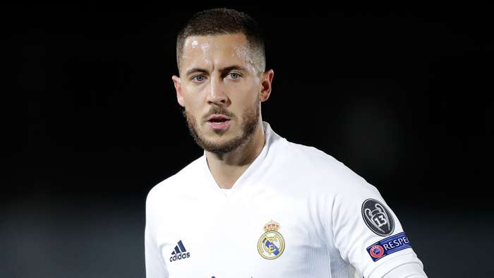 Eden Hazard Real Madrid 2020-21