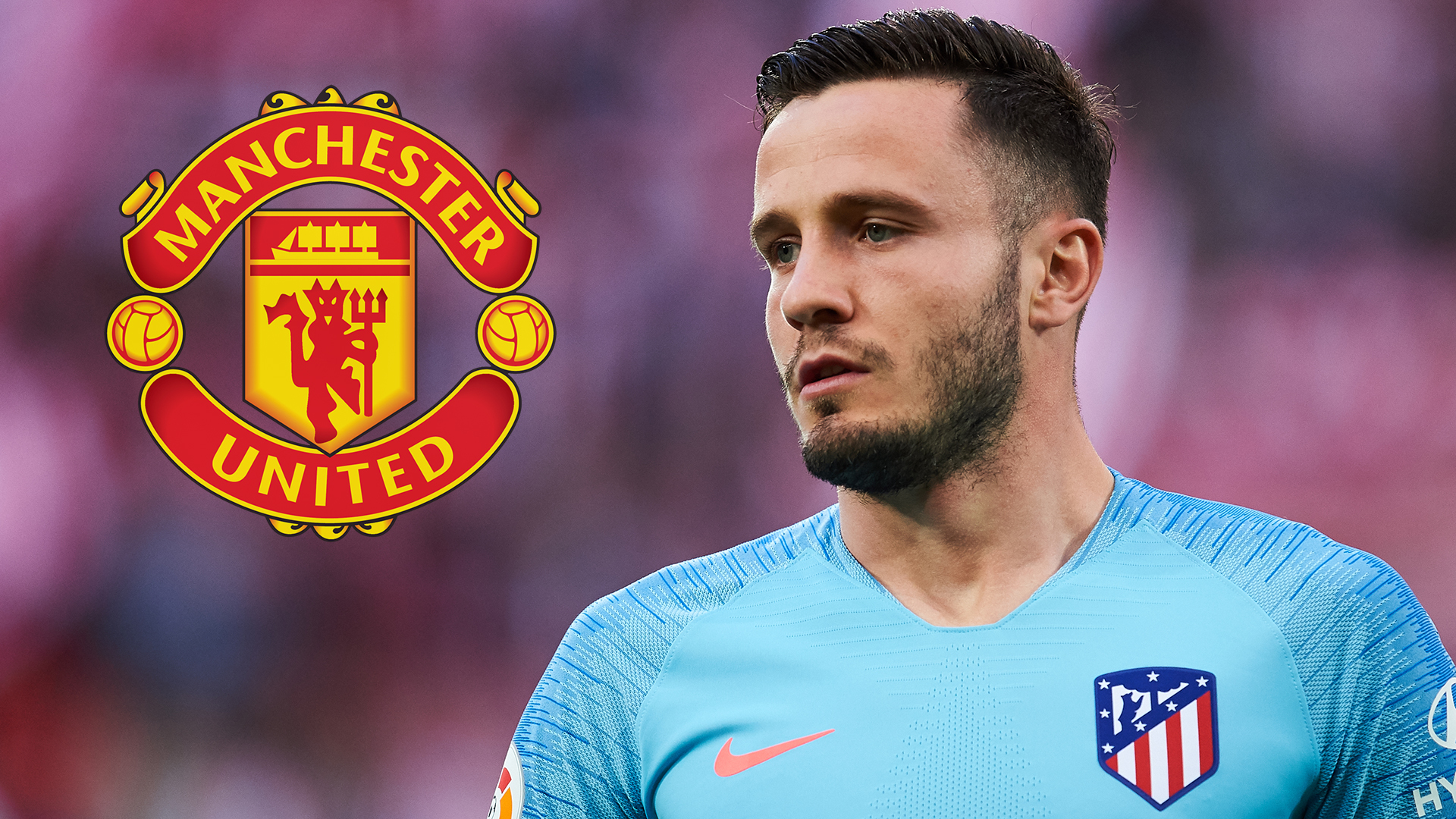 Atletico midfielder Saul Niguez teases 'new club' announcement amid Manchester United links