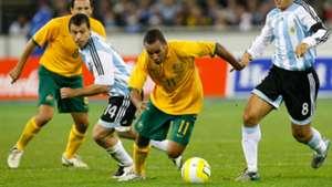 Archie Thompson Australia v Argentina Friendly 11092007