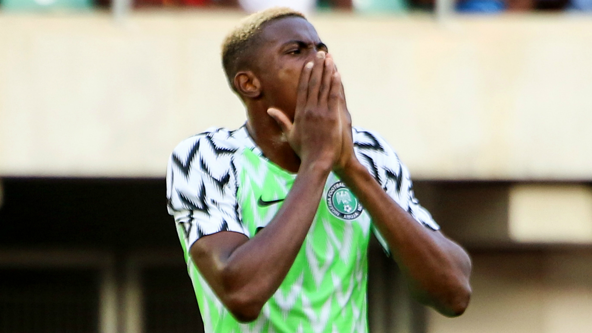Obuh: Osimhen, Aina withdrawals from Cameroon friendly will give Rohr opportunity to try new players