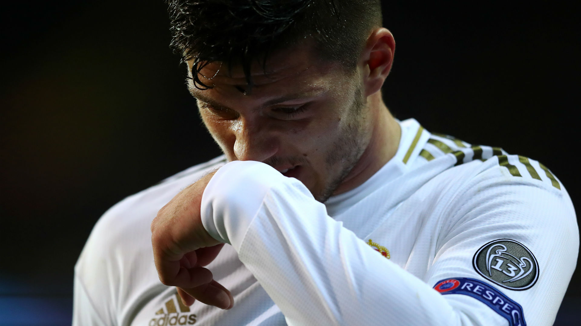 Real Madrid forward Jovic tests positive for Covid-19