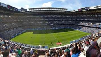 Asistencia Santiago Bernabeu Real Madrid Villarreal