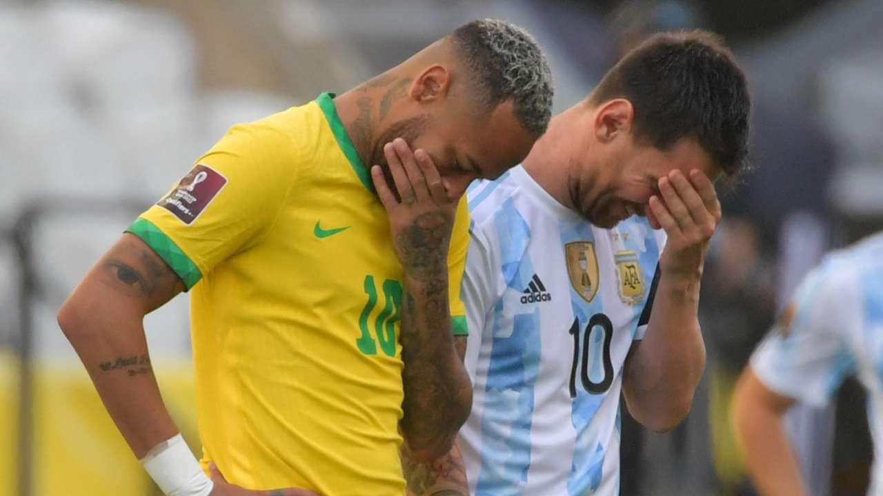 Lionel Messi Neymar Brazil Argentina