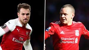Aaron Ramsey, Jay Spearing