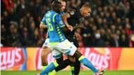 Kalidou Koulibaly Kylian Mbappe Napoli PSG Champions league
