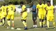 Wazito FC players.