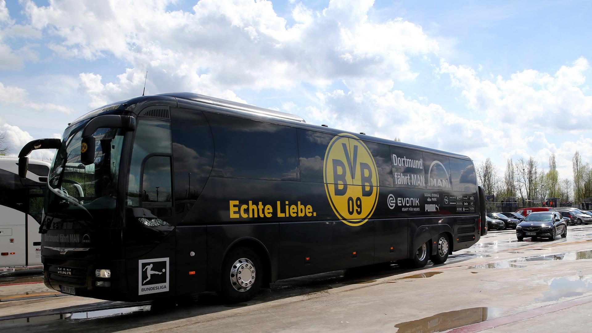 Mannschaftsbus Bvb