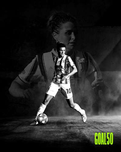 Cristiana Girelli Goal 50