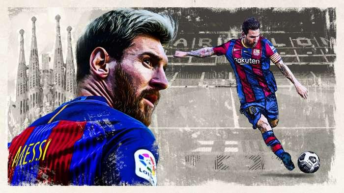 Messi follow his heart GFX