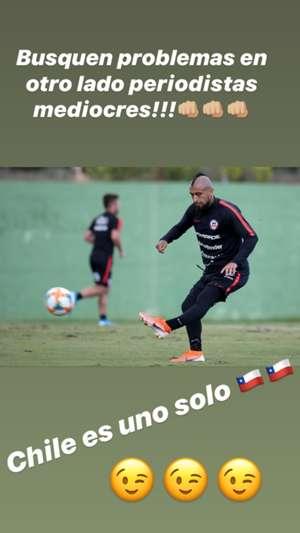 Arturo Vidal post Chile 101019