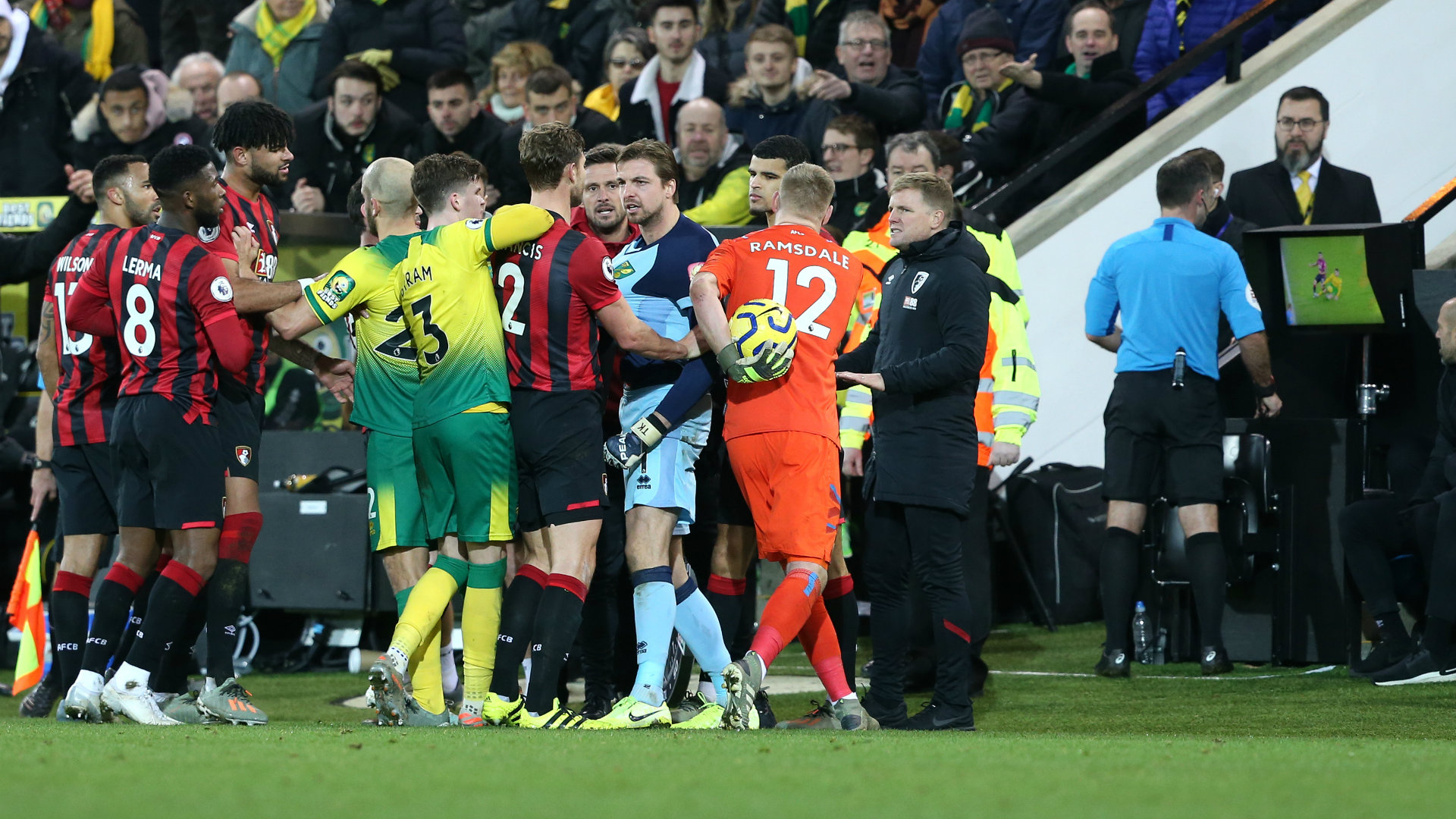 'The referee needs to make decisions' - Krul says Norwich players 'sick' of VAR use outside the stadium