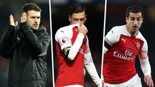 Ramsey Ozil Mkhitaryan Arsenal