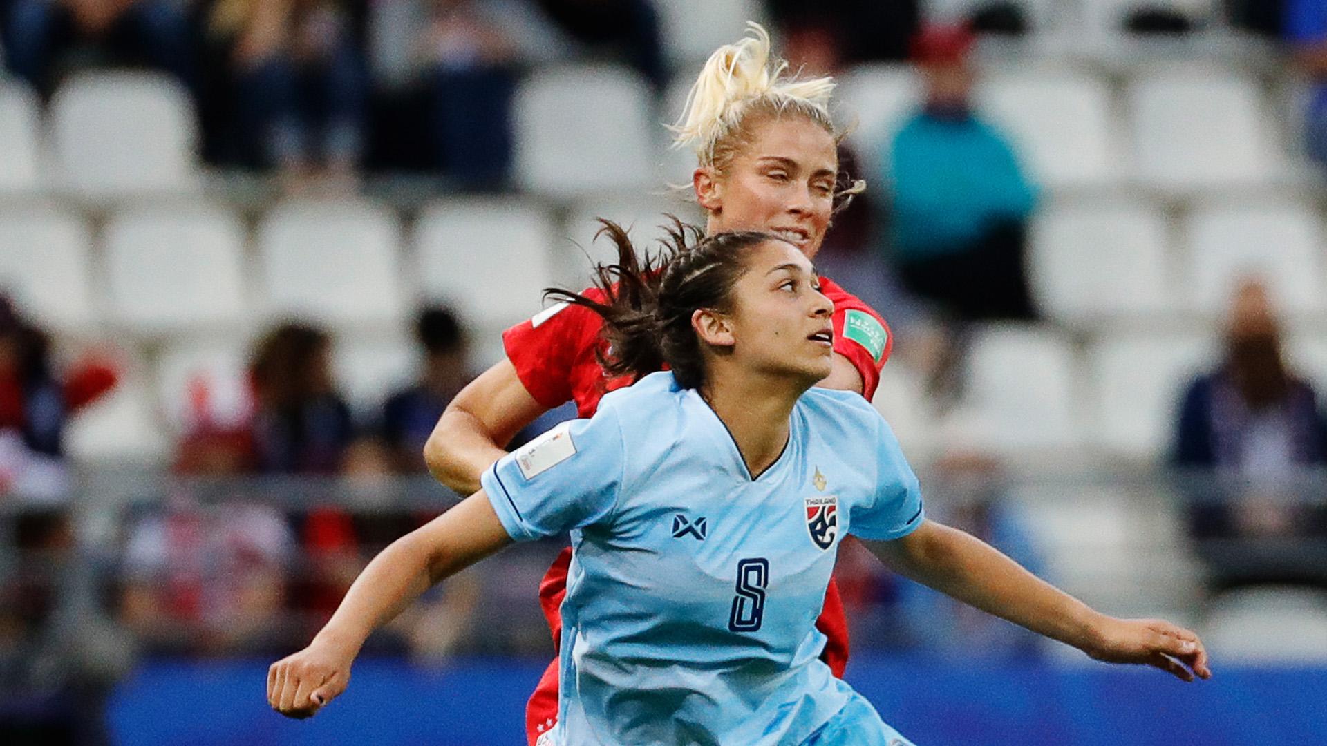 Miranda Nild Abby Dahlkemper USA Thailand Women World Cup 11062019