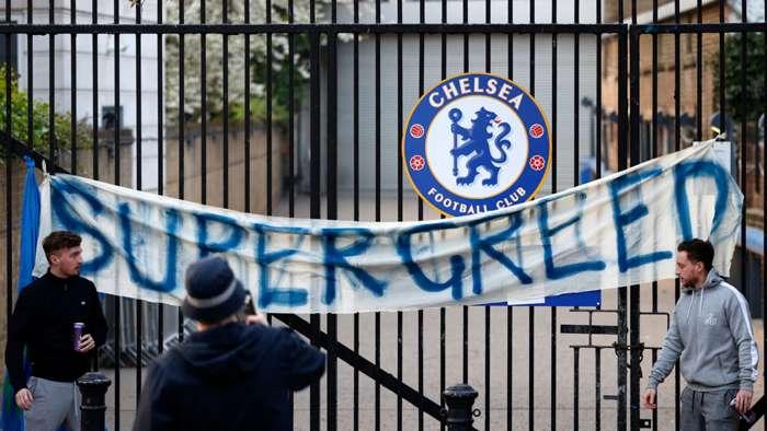 Chelsea fans, Super Greed
