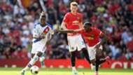 Wilfried Zaha Aaron Wan-Bissaka Manchester United Crystal Palace 2019-20