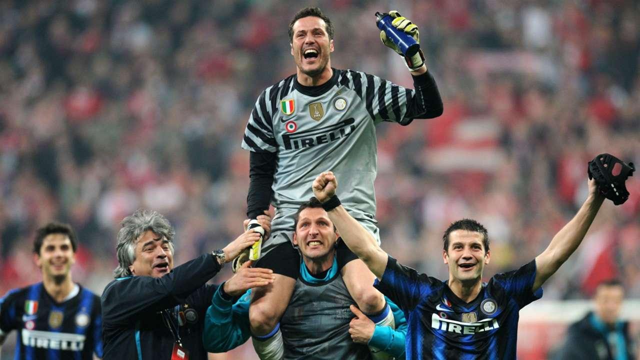Julio Cesar Inter Bernabeu final Champions League 2010
