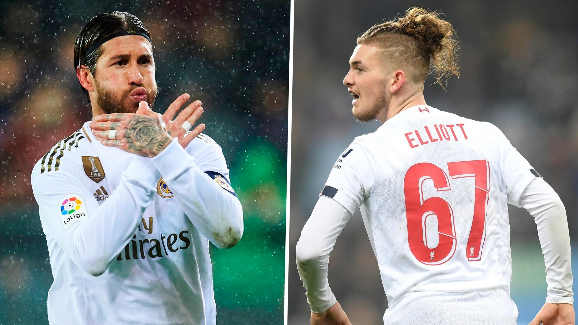 'I don't like him' - Liverpool wonderkid Elliott snubs Real captain Ramos